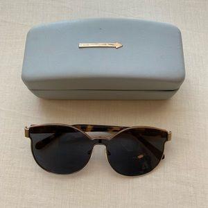 Karen Walker Sunglasses with case!